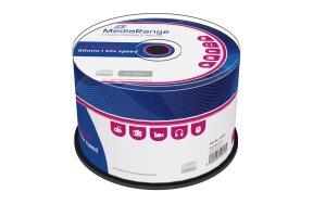 CD-R MEDIARANGE 80' 700mb 52x CAKE/50